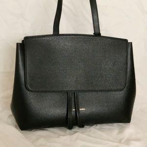 NWT Mansur Gavriel Saffiano Mini Lady Bag